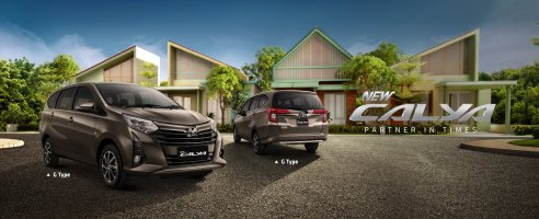 All New Calya di Produk Toyota Solo